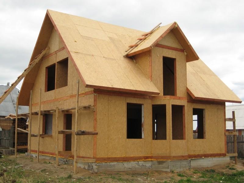 Фасад дома из фанеры своими руками 24