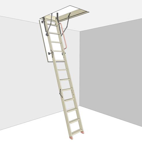 Чердачные лестницы Дёке